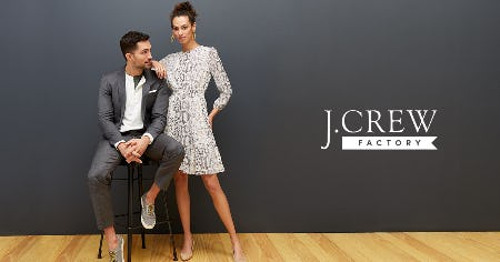 UP TO 50% OFF STOREWIDE! from J. Crew Factory