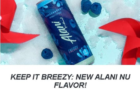 Keep It Breezy: New Alani NU Flavor from GNC