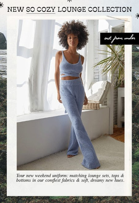 New So Cozy Lounge Collection