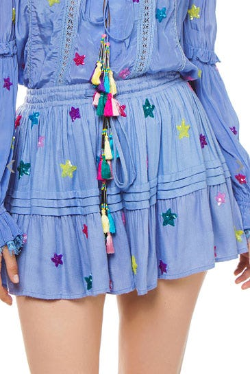 Stellar Star Tiered Skirt from Everything But Water