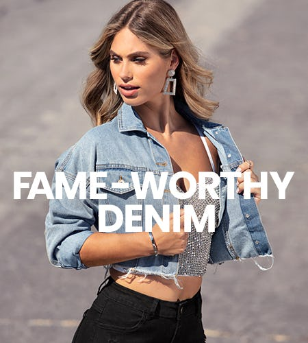 Fame-Worthy Denim