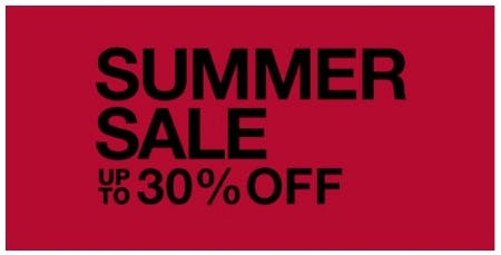 Summer Sale up to 30% Off from The North Face