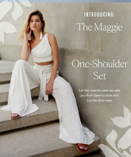 Introducing: The Maggie One-Shoulder Set from Free People