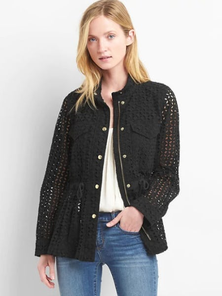 Eyelet Utility Jacket from Gap
