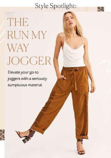 The Run My Way Jogger from Free People