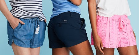 The Best Shorts for Her from vineyard vines