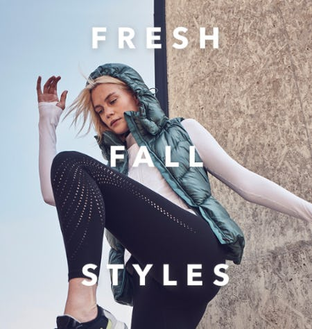 Our Fresh Fall Styles from Athleta