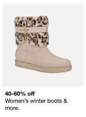 40-60% Off Women's Winter Boots & More