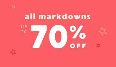 All Markdowns up to 70% Off from Gymboree