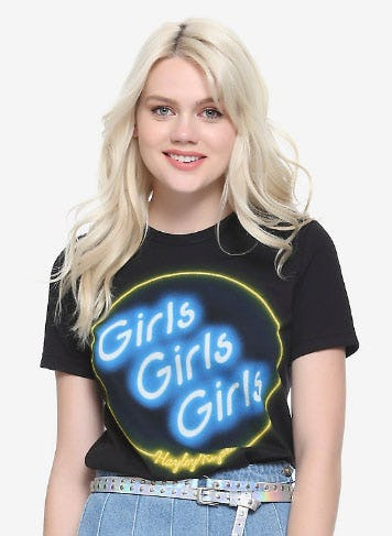 Hayley Kiyoko Girls Like Girls Neon Girls T-Shirt from Hot Topic