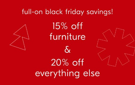 15% Off Furniture & 20% Off Everything Else from West Elm