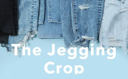 Just Dropped: The Jegging Crop