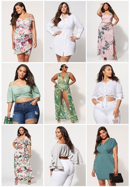 The Sunkissed Desert Collection from Fashion To Figure