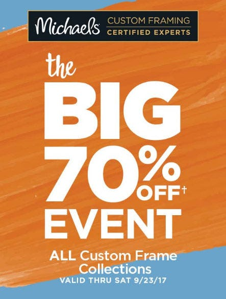 70% Off The Big Event
