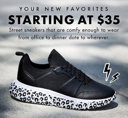 Your New Favorites Starting at $35