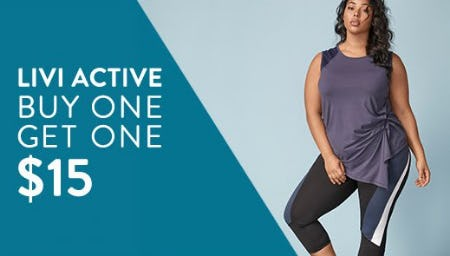 4b75c73b9a St. Clair Square | LIVI Active Buy One, Get One $15