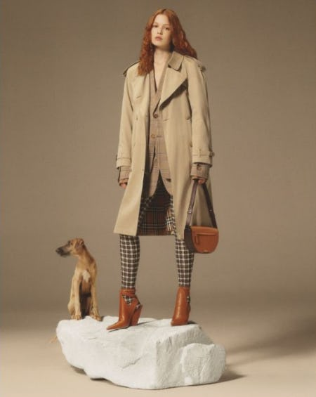 Winter's Timeless Layers from Burberry