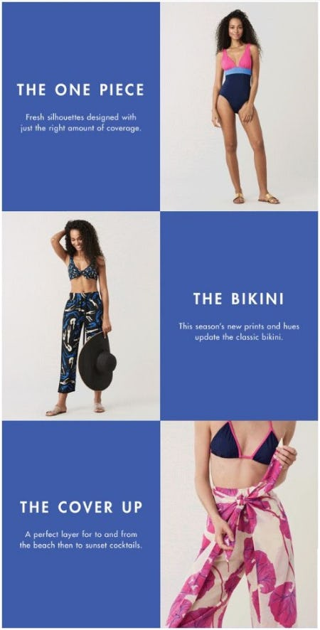 Swim Is In from Diane von Furstenberg