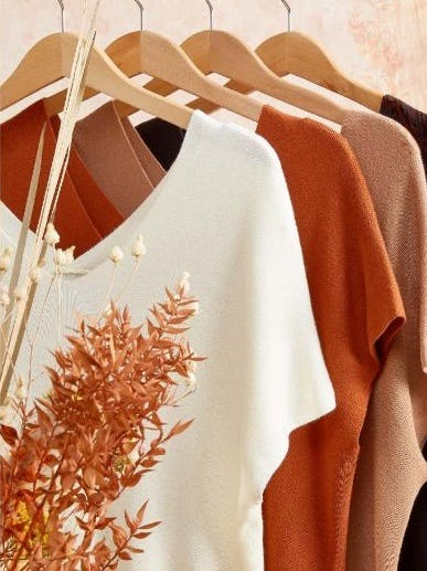 Lightweight Sweaters to Transition your Closet into Fall from Versona