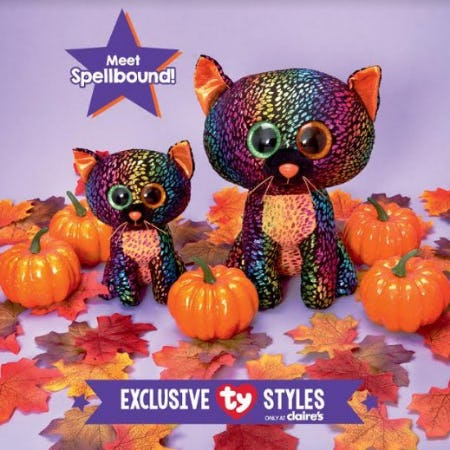 Meet TY Spellbound! from Claire's