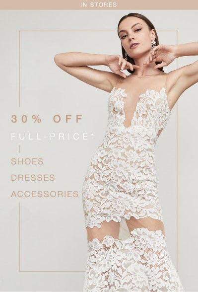 30% Off Full-Price from BCBG