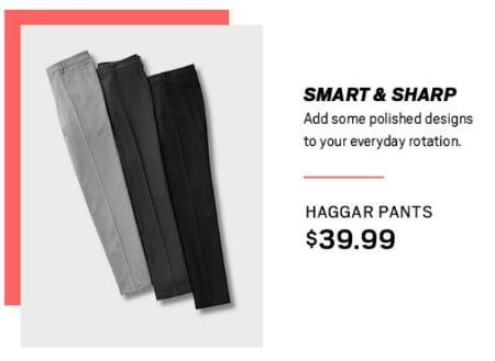 Haggar Pants $39.99