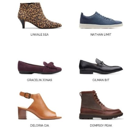 Comfortable Shoes to Fit your Every Need from Clarks