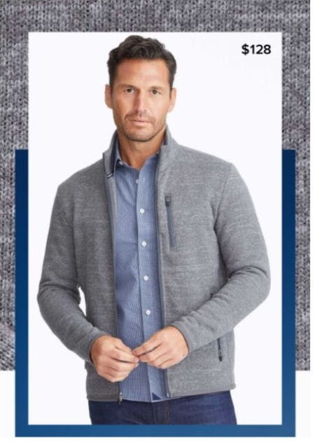 Spotlight: Fleece Full-Zip from UNTUCKit