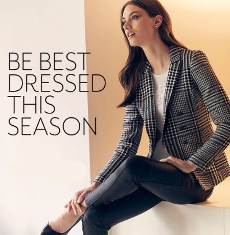 Be Best Dressed This Season from White House Black Market