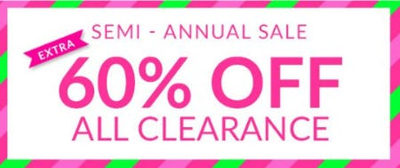 Semi - Annual Sale Sale from Charming Charlie