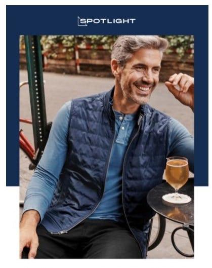 Meet Fall's Lightweight Insulated Vest from UNTUCKit