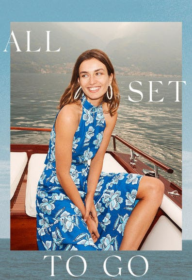 Beautiful in Blue from Anthropologie