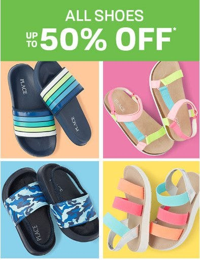 All Shoes up to 50% Off