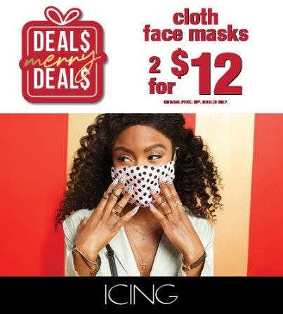 Cloth Face Masks at Icing! from Icing