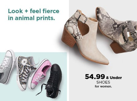 $54.99 & Under Shoes from Kohl's