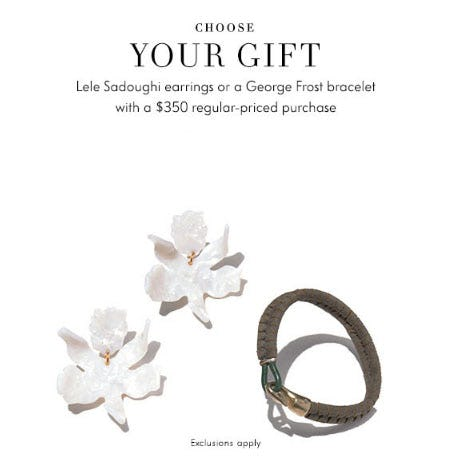 Free Gift with $350 Purchase from Neiman Marcus