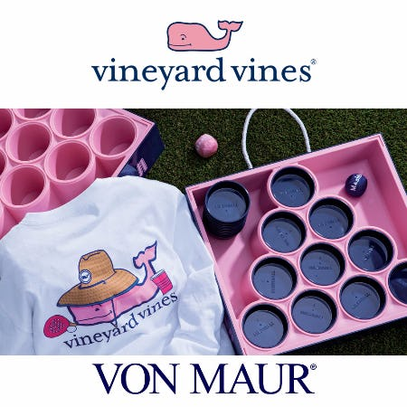vineyard vines Mash Ball T-shirts & Mash Ball Set Gift With Purchase from Von Maur