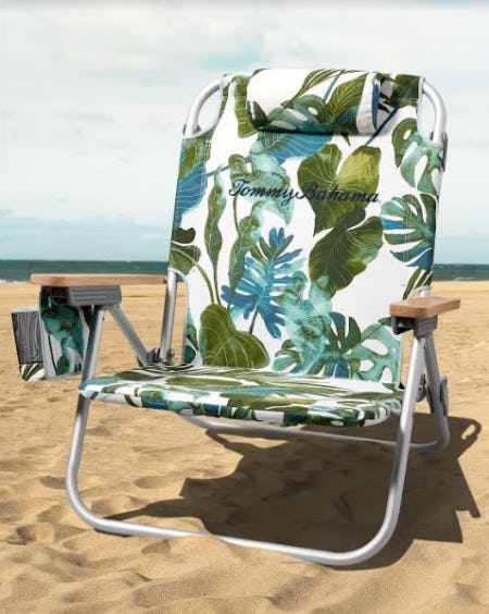 Buy One, Get One 50% Off Beach Chairs from Tommy Bahama