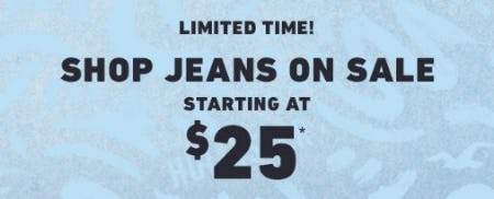 Jeans on Sale Starting at $25 from Hollister Co.