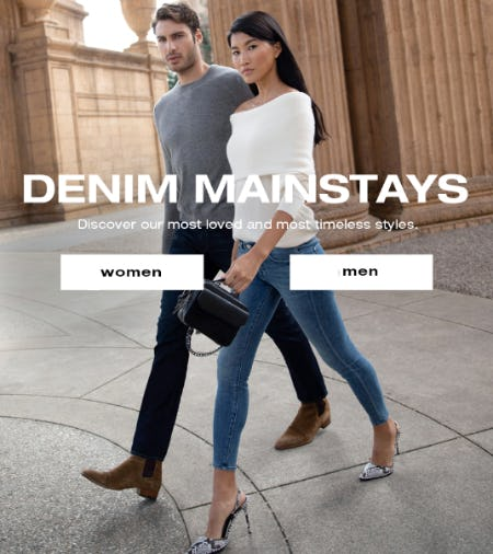 Denim Mainstays from 7 for All Mankind
