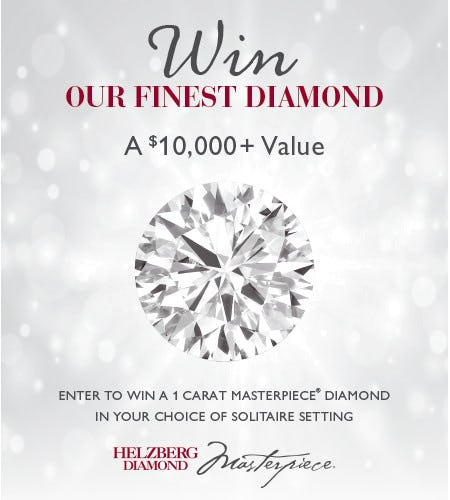 Enter to Win a One Carat Masterpiece Diamond*