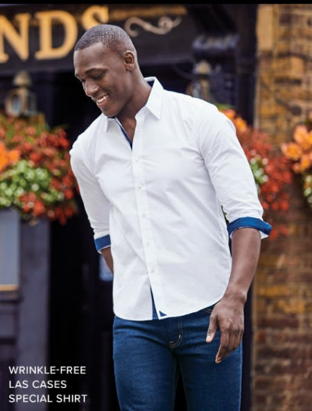 Our Wrinkle-Free Las Cases Special Shirt from UNTUCKit