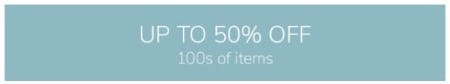 Up to 50% Off 100s of Items from Pottery Barn Kids