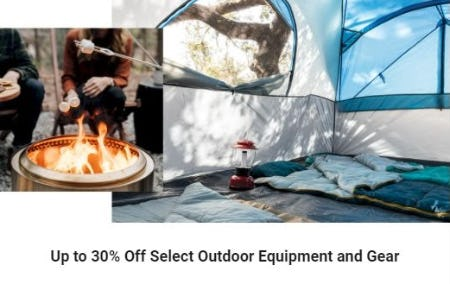 Up to 30% Off Select Outdoor Equipment and Gear from Dick's Sporting Goods