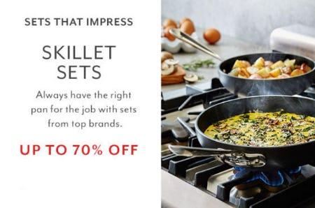 Up to 70% Off Skillet Sets
