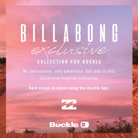 Billabong Exclusive for Buckle