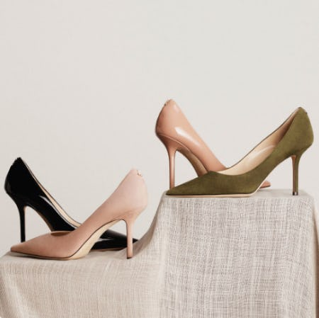 Iconic Pumps Refreshed For Spring from Jimmy Choo