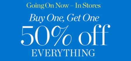 BOGO 50% Off Everything from Talbots