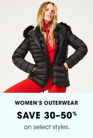 Women's Outerwear Save 30-50% from Bloomingdale's