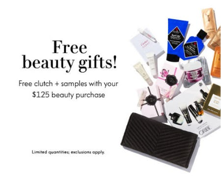 Free Beauty Gifts from Neiman Marcus